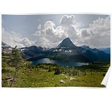 Hidden Lake - Glacier National Park Poster
