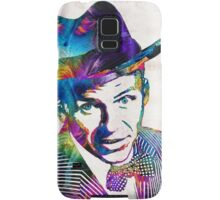 Frank Sinatra Art - Old Blue Eyes - By Sharon Cummings Samsung Galaxy Case/Skin