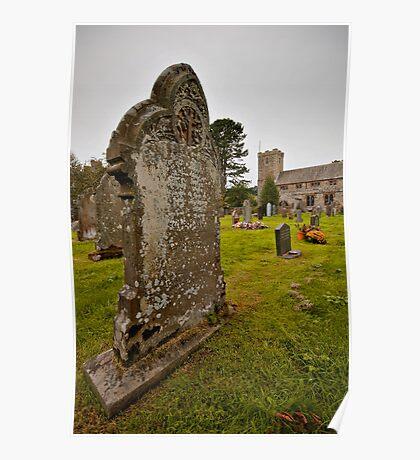 Graveyard - Lake District Poster
