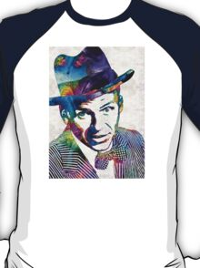 Frank Sinatra Art - Old Blue Eyes - By Sharon Cummings T-Shirt