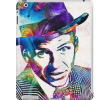 Frank Sinatra Art - Old Blue Eyes - By Sharon Cummings iPad Case/Skin
