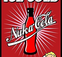 """""""It's time for a... ICE COLD"""" Nuka Cola by imLXZ"""