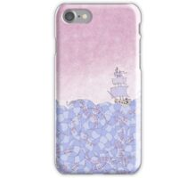Crossing the Wiggling Sea iPhone Case/Skin
