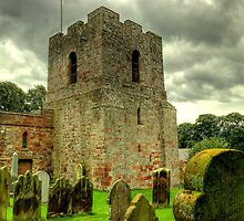St Michael's Church, Burgh-by-Sands by Jamie  Green