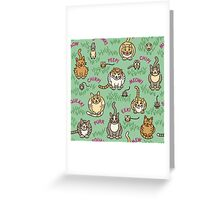Cats and Critters Greeting Card