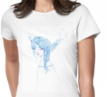 Tears of the Winged  Womens Fitted T-Shirt