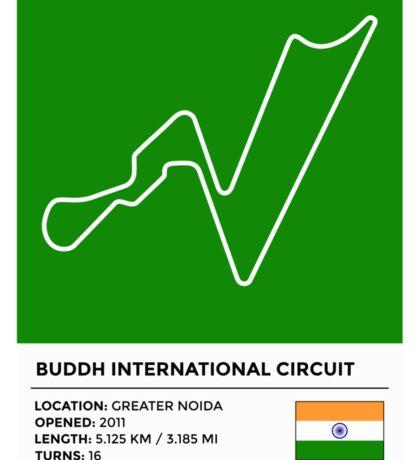 Buddh International Circuit Sticker