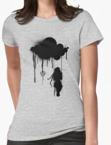the rain Womens Fitted T-Shirt