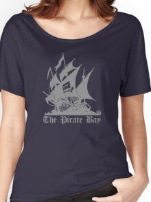 The Pirate Bay  Women's Relaxed Fit T-Shirt