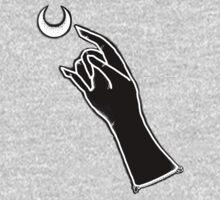 Witch Hand Black One Piece - Long Sleeve