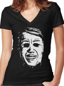 Jimmy Women's Fitted V-Neck T-Shirt