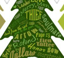 Smells Like Forest - Team Robin Hood Sticker