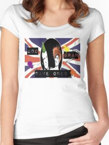 God Save One's Grandma Women's Fitted Scoop T-Shirt