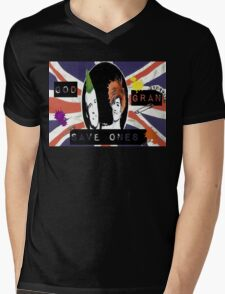 God Save One's Grandma Mens V-Neck T-Shirt
