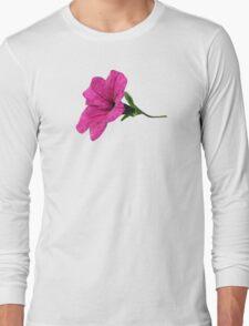 DARK PINK FLOWER Long Sleeve T-Shirt