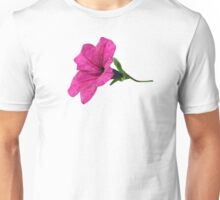 DARK PINK FLOWER Unisex T-Shirt