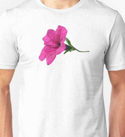 DARK PINK FLOWER Unisex T-Shirt
