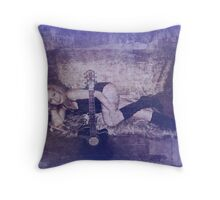 Past Loves Throw Pillow