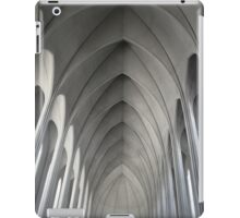 Iceland cathedral  iPad Case/Skin