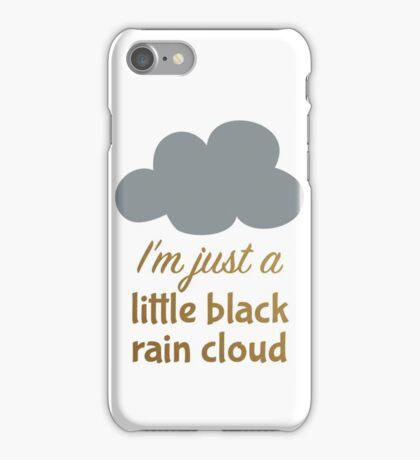 A Little Black Rain Cloud iPhone Case/Skin