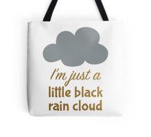 A Little Black Rain Cloud Tote Bag