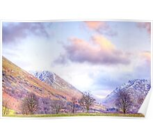 Late Afternoon on the Kirkstone Pass Poster