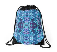 Tribal Reflection Drawstring Bag