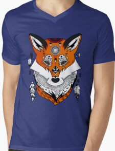 Fox Head Mens V-Neck T-Shirt