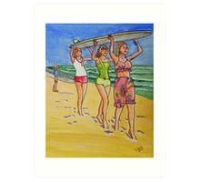 surf art Art Print