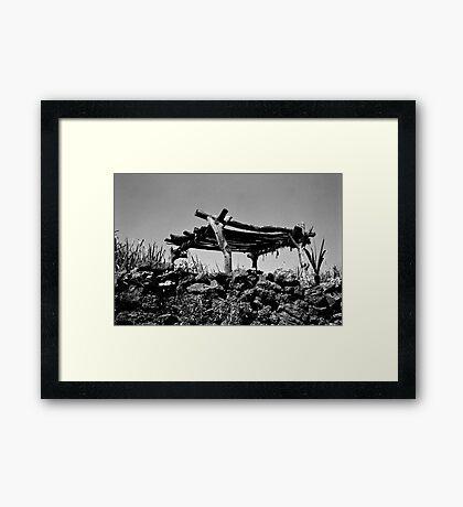 Nostalgia of a Lost Farmer Framed Print