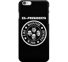 Ex-Presidents iPhone Case/Skin