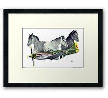 """Wild Pony's"" Framed Print"
