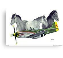 """""""Wild Pony's"""" Canvas Print"""