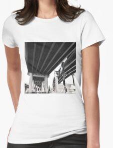 Bridge Toll Womens Fitted T-Shirt