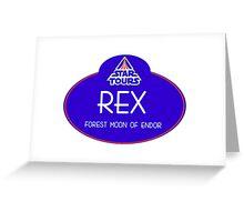 RX-24 Greeting Card