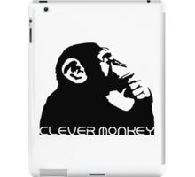 Clever Monkey iPad Case/Skin