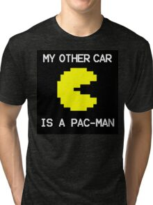 My Other Car Is a Pac-Man Tri-blend T-Shirt