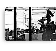 puppet workshop Canvas Print