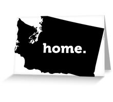 Washington State HOME Greeting Card
