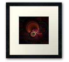 Apophysis Space Travel Framed Print