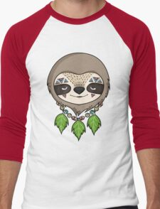 Sloth Head Men's Baseball ¾ T-Shirt
