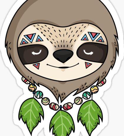 Sloth Head Sticker