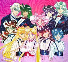 Tuxedo Sailor Senshi by Rickykun