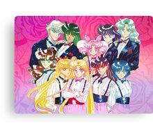 Tuxedo Sailor Senshi Canvas Print