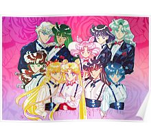 Tuxedo Sailor Senshi Poster