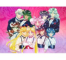 Tuxedo Sailor Senshi Photographic Print