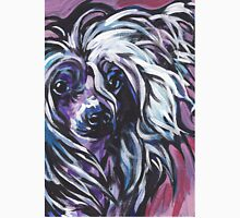 Chinese Crested Dog Bright colorful pop dog art Unisex T-Shirt