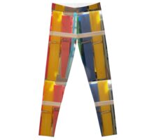 colored clothespins Leggings