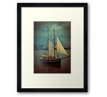 Pirates capture Belfast Lough | Irish Landscape | Pictures Of Ireland Framed Print