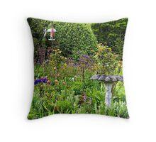The Bird's Garden Throw Pillow